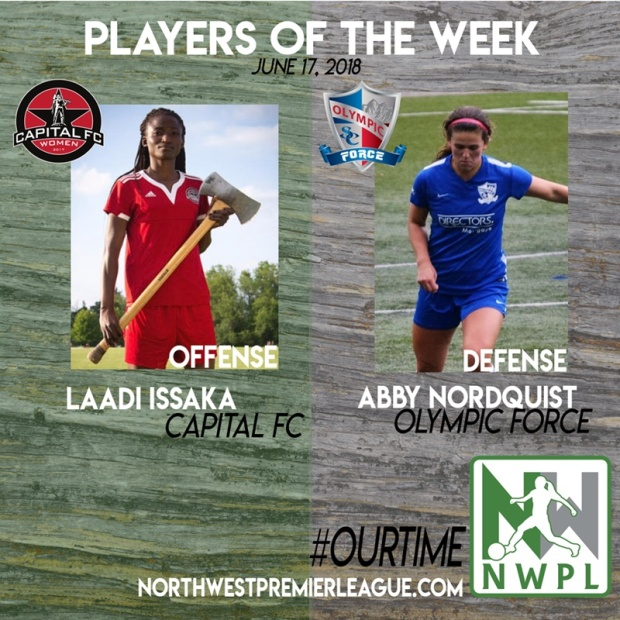 OurTime: Laadi Issaka, Abby Nordquist honored as Players of